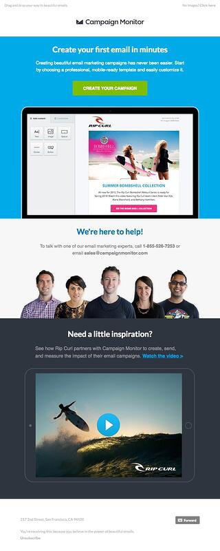 Marketing Email Templates You Really Should Be Using - Email campaign templates