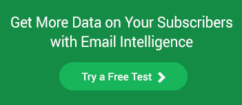get more data on your subscribers with email intelligence