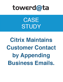 Citrix Customer Contact Appending Emails