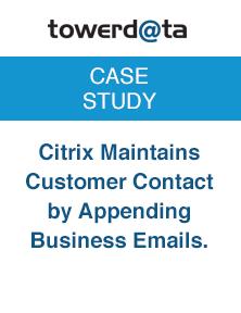 Citrix Customer Contact Appending Emails