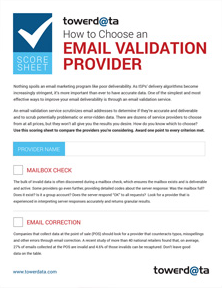 How To Choose Email Validation Provider