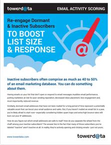 Email Activity Scoring