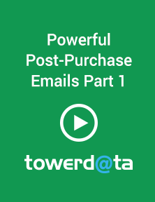 Powerful Post Purchase Email